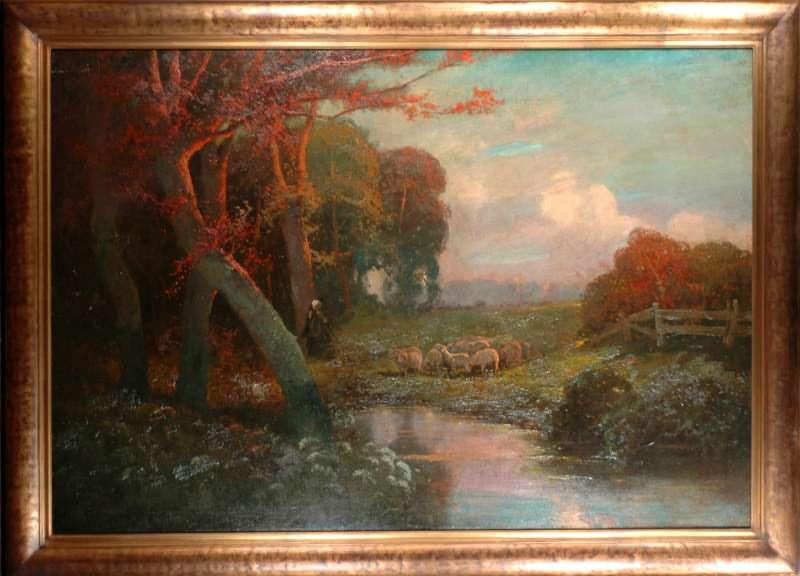 Alois Arnegger Painting At Jennmaur Gallery