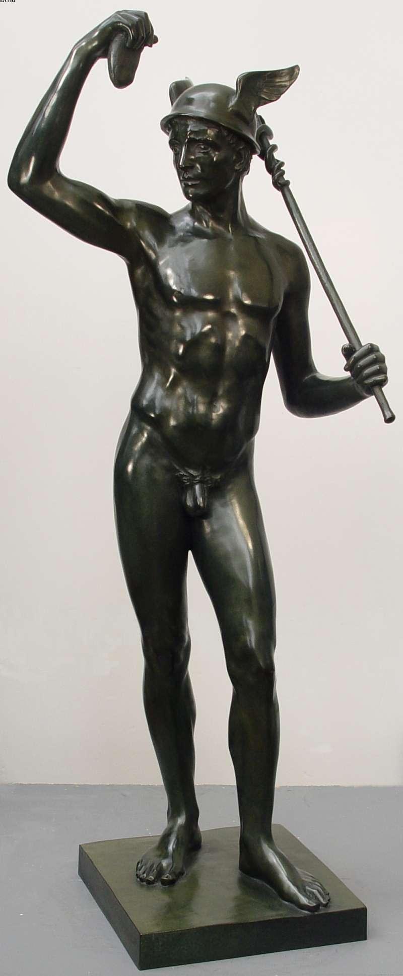 Mercury God Statue - Viewing Gallery Mercury