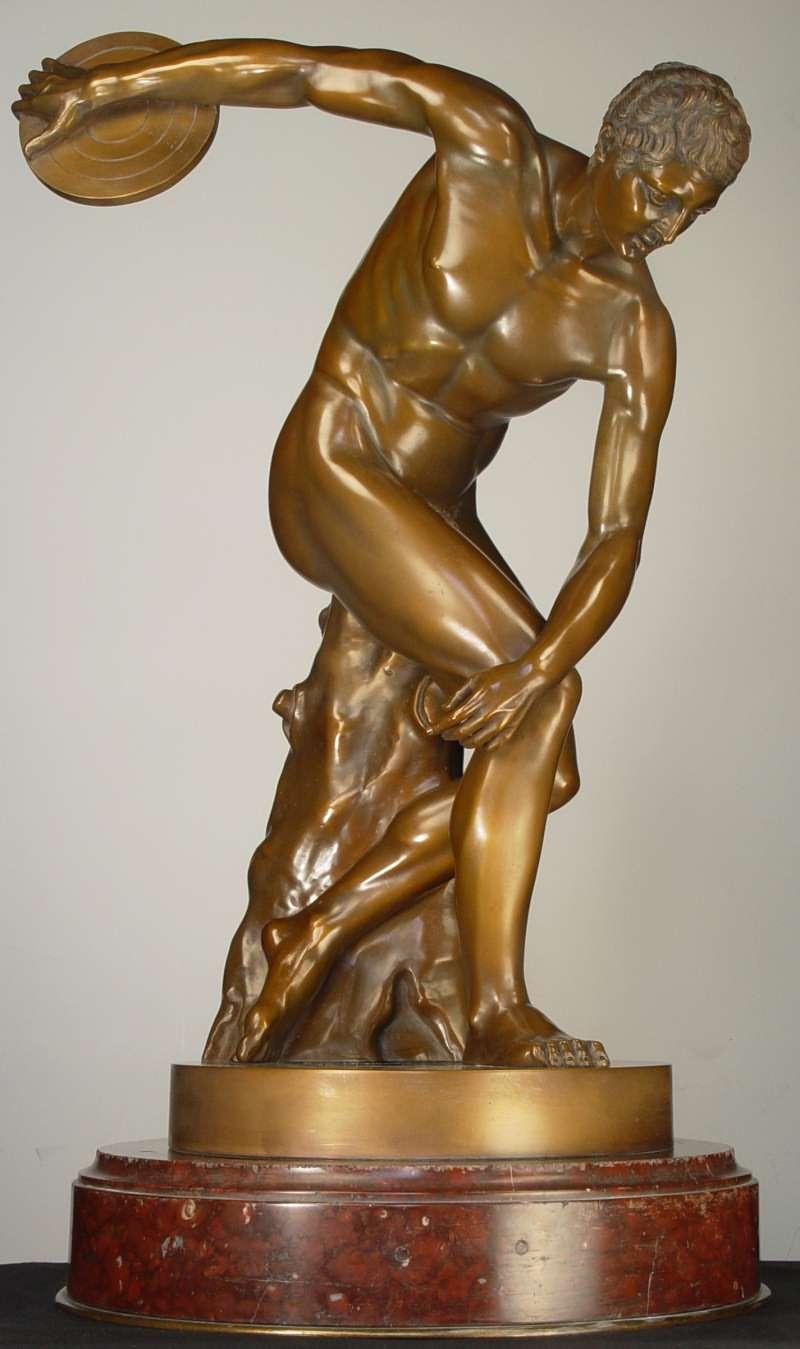 ... paris olympics of 1900 of the discobolus of myron 417 x 600 24 kb jpeg